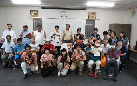 8/13(火)大阪ウクレレスターズ♪出張レッスンin相生